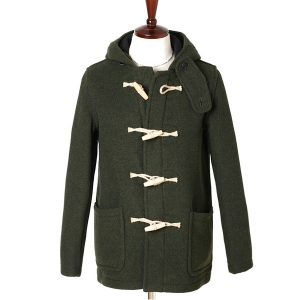 "LONDON TRADITION Martin NYNF Duffle Coat ""Olive"""