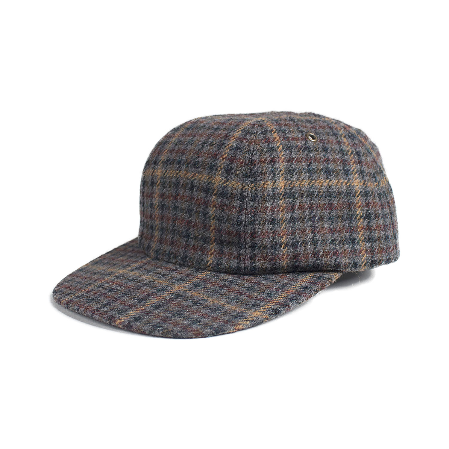 Quartet Cap (Grey Check)