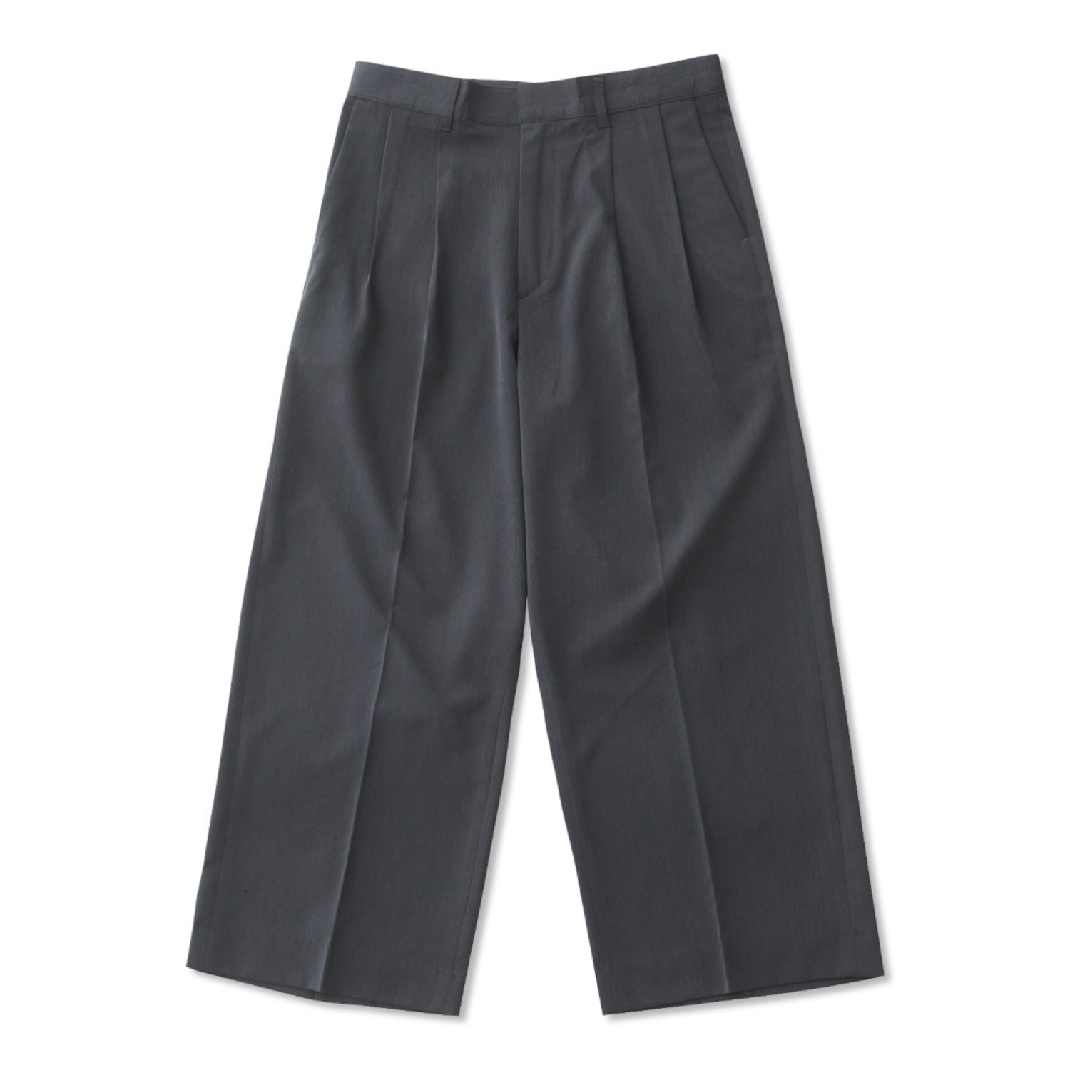 DailyInn Concierge Wide Set-Up TR PAnts Type2 (Charcoal)