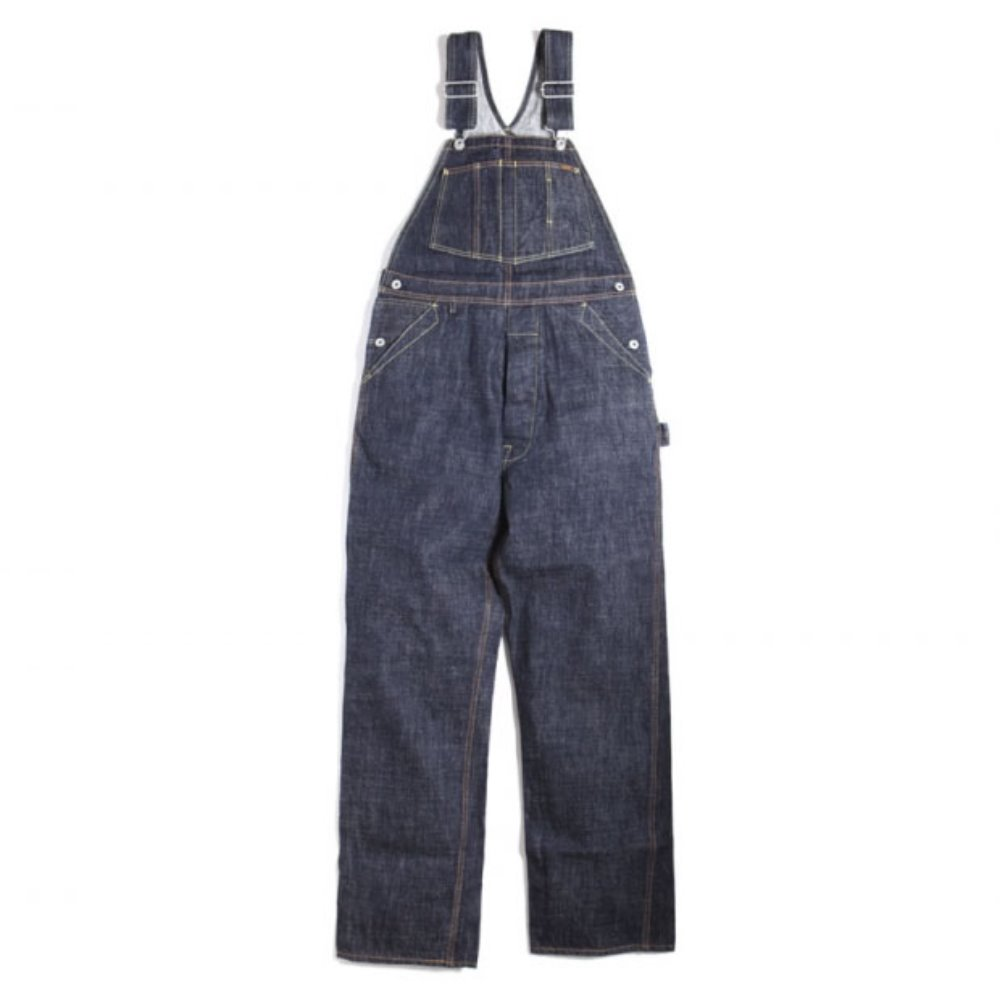 Trophy Clothing 1603 Carpenter Overall Dirt Denim