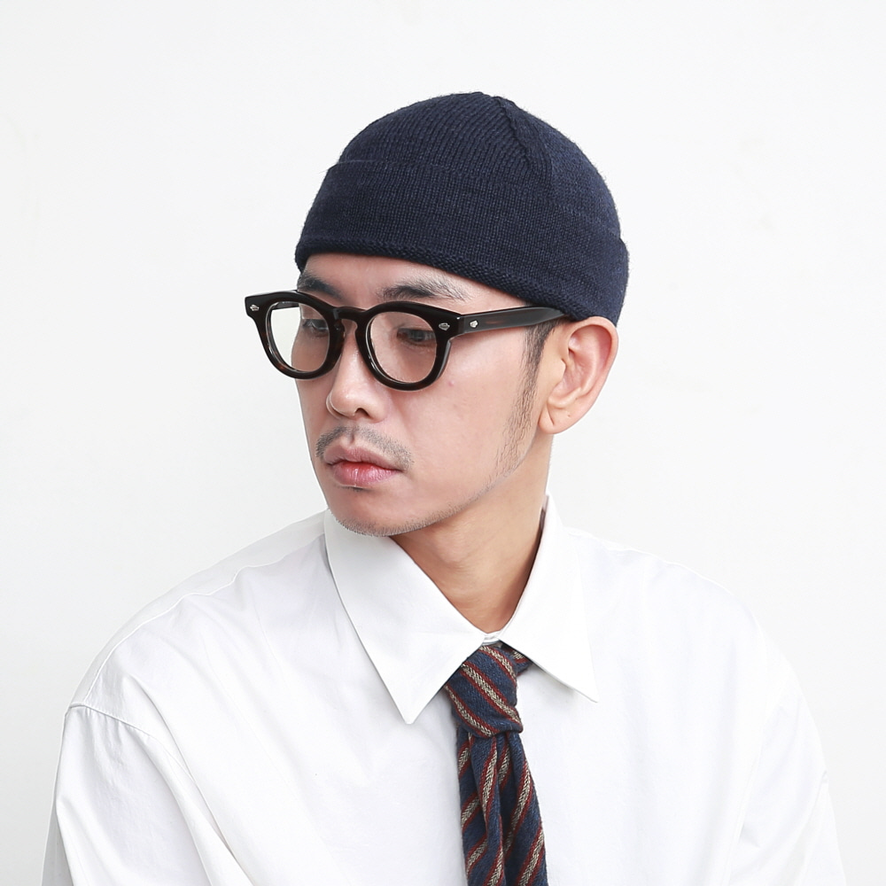 DAILY INN X HIGHLAND 2000 WATCH CAP BEANIE (NAVY)