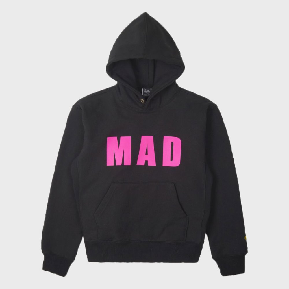LOCALS ONLY Mad Pull Over Hoodie (Black)