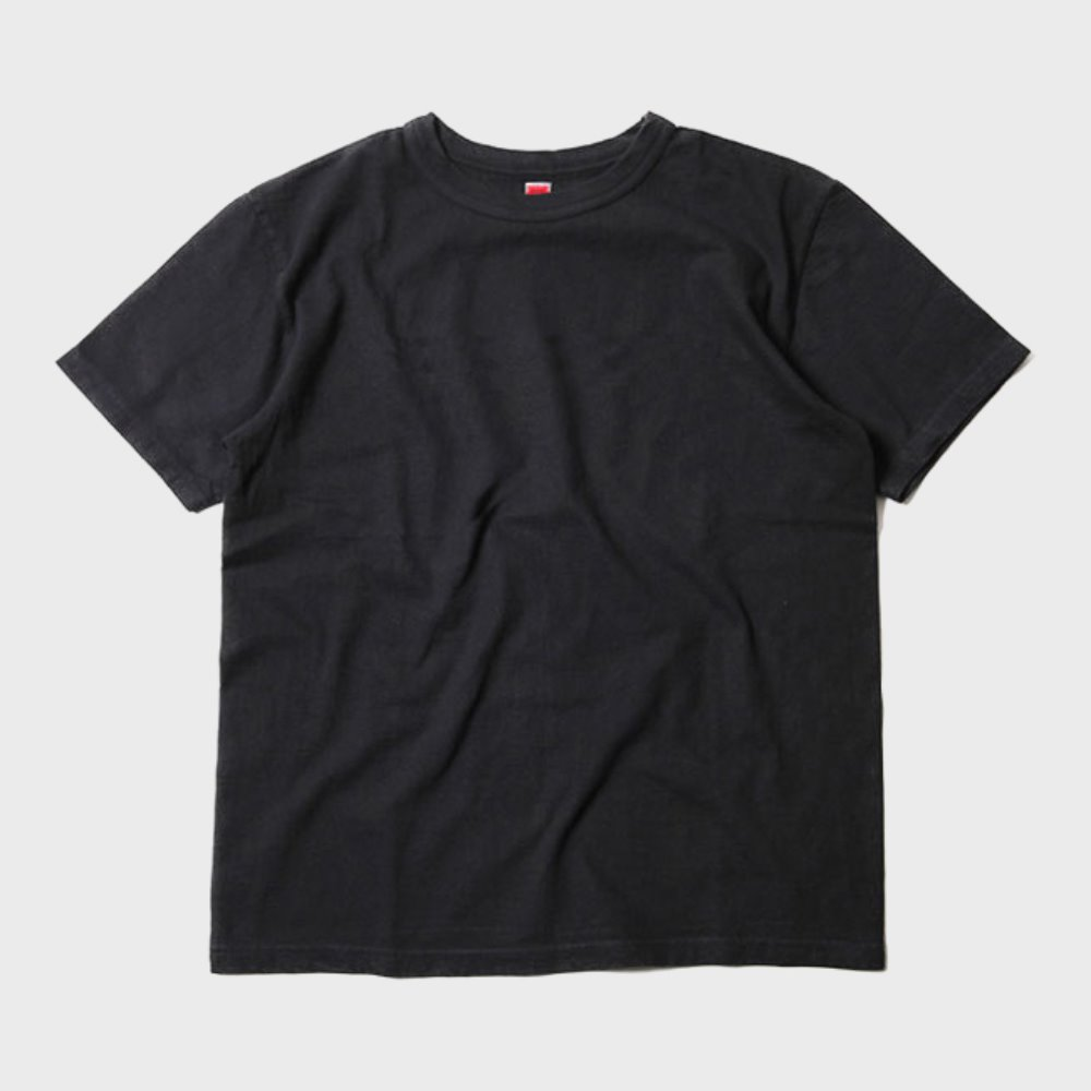 Loop Wheel Pocket Tee (Black)