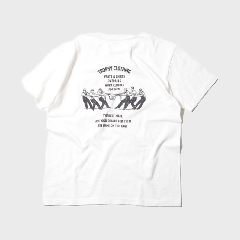Workers Logo Loop Wheel Tee (White)