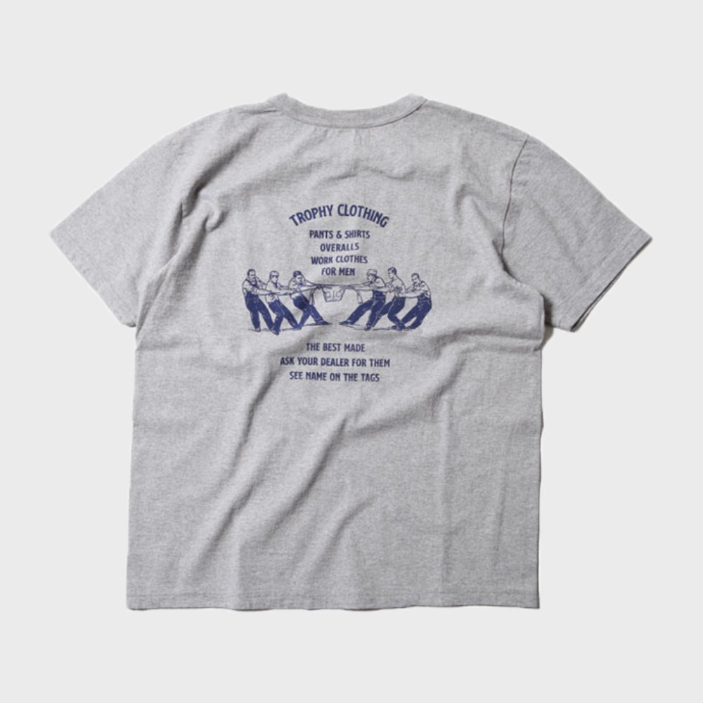 Workers Logo Loop Wheel Tee (Grey)