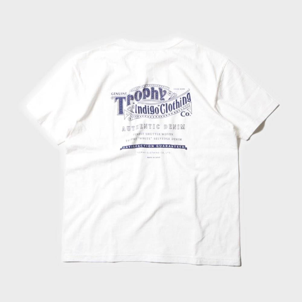 Authentic Logo LW Tee (White)