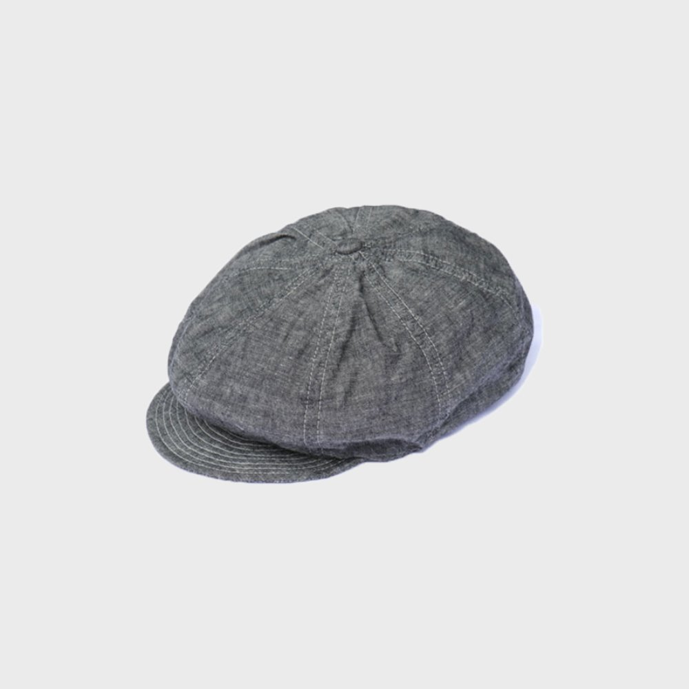 Summer Newsboy Cap (Black)