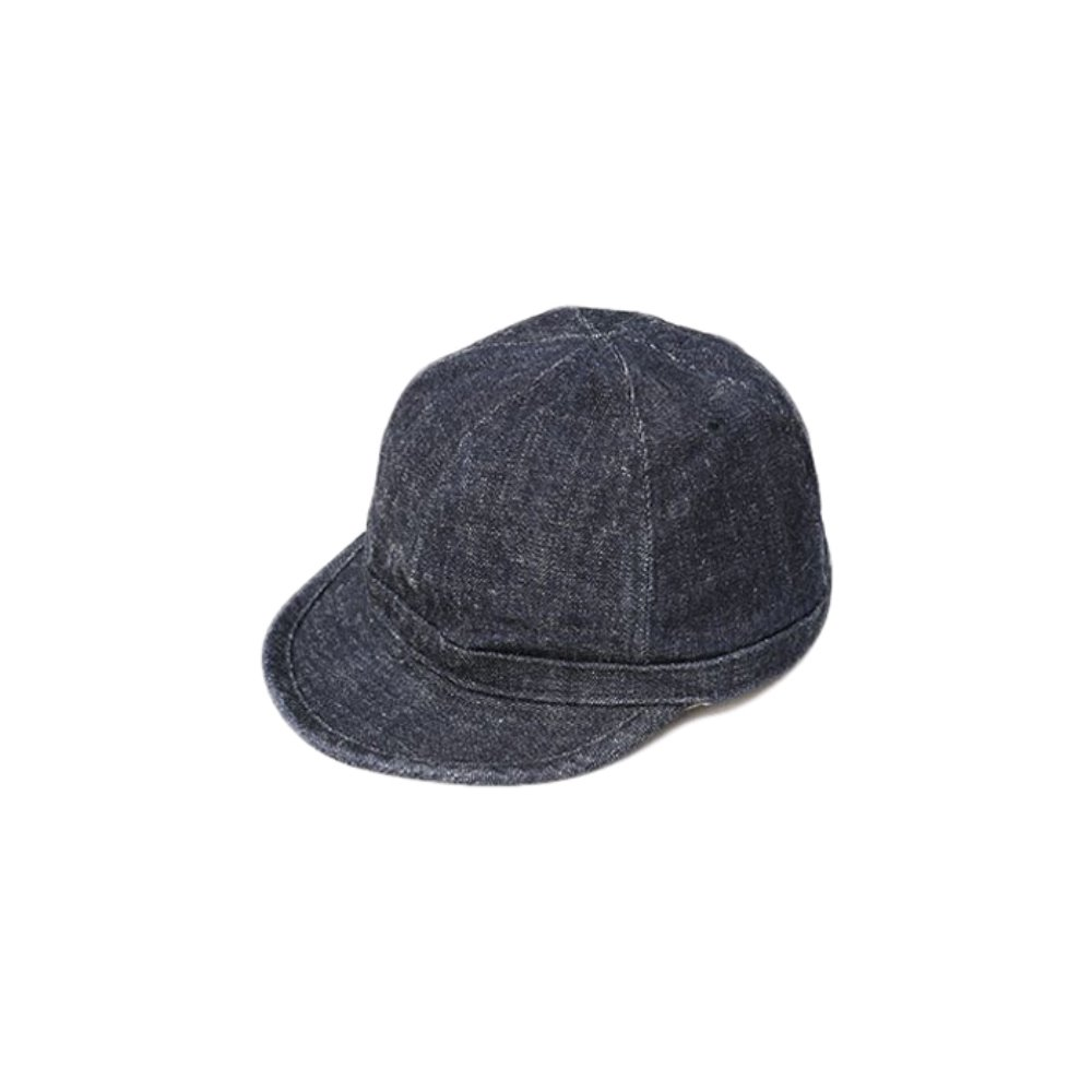 Dirt Denim Prisoner Cap - Indigo x Navy